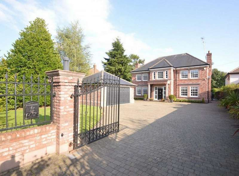 5 Bedrooms Detached House for sale in Goughs Lane, Knutsford