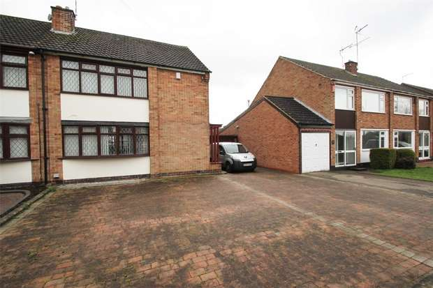 3 Bedrooms Semi Detached House for sale in Oxendon Way, Binley, Coventry