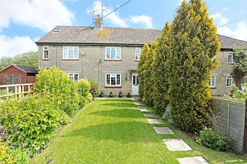 3 Bedrooms Terraced House for sale in Glebe Cottages, Bremhill, Calne, Wiltshire