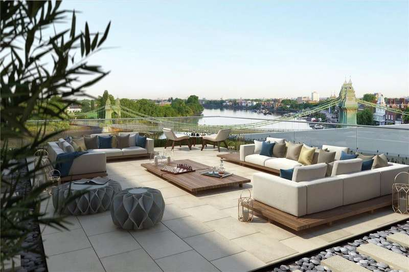 3 Bedrooms Penthouse Flat for sale in Queen's Wharf, Hammersmith, W6