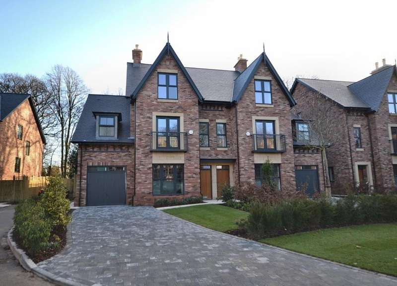 5 Bedrooms Semi Detached House for sale in The Pankhurst, Hayescroft Gardens, Palatine Road, Didsbury