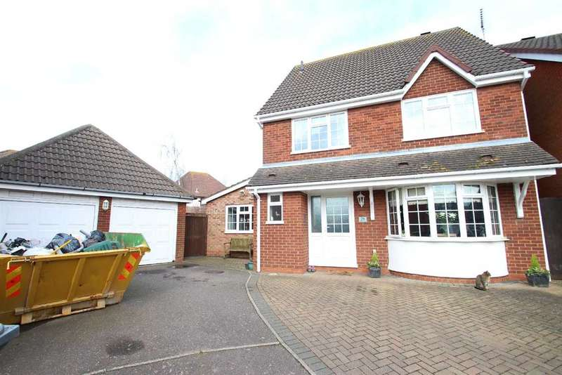 4 Bedrooms Detached House for sale in Herbert Road, Kesgrave, Ipswich