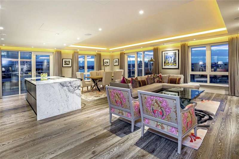 3 Bedrooms Flat for sale in Distillery Wharf, Parr's Way, Hammersmith, W6