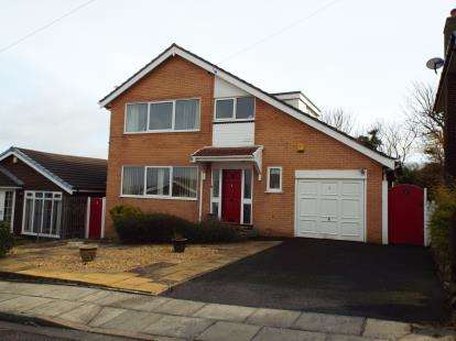 2 Bedrooms Detached House for sale in The Knowle, Blackpool, Lancashire, FY2