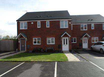 2 Bedrooms Terraced House for sale in Edale Close, Warrington, Cheshire, WA1
