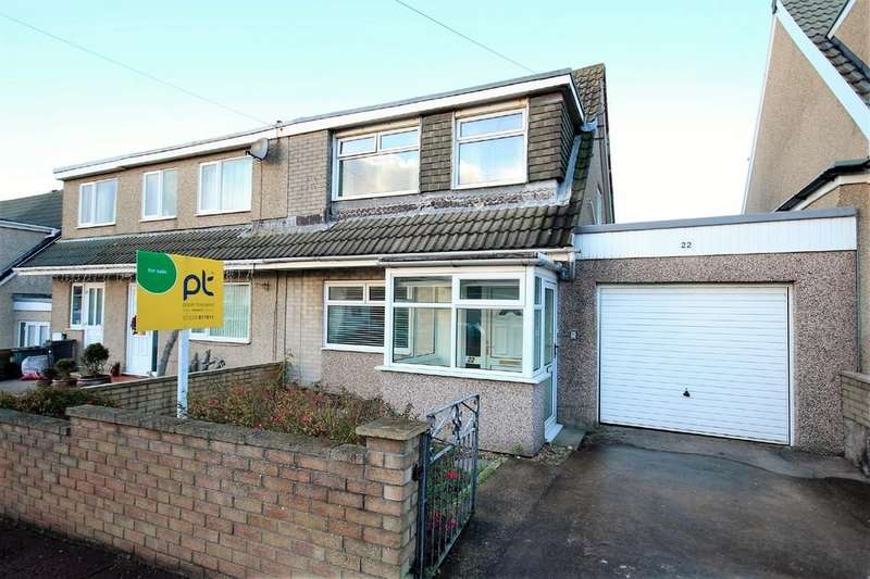 3 Bedrooms Semi Detached House for sale in 22 Andreas Avenue, Walney
