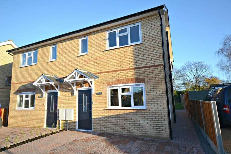 3 Bedrooms Semi Detached House for sale in 12a Joiners Road, Linton, Cambridge, CB21 4NP