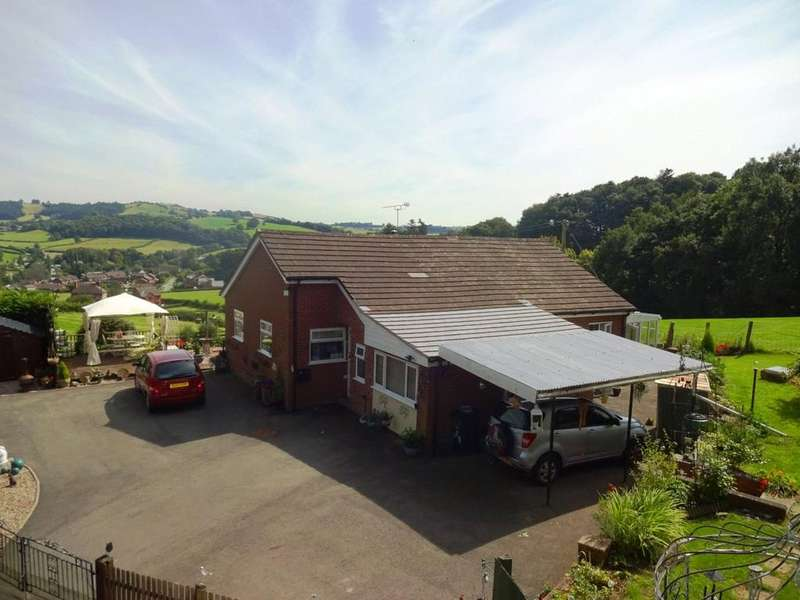 3 Bedrooms Detached Bungalow for sale in Bettws Cedewain, Newtown, Powys