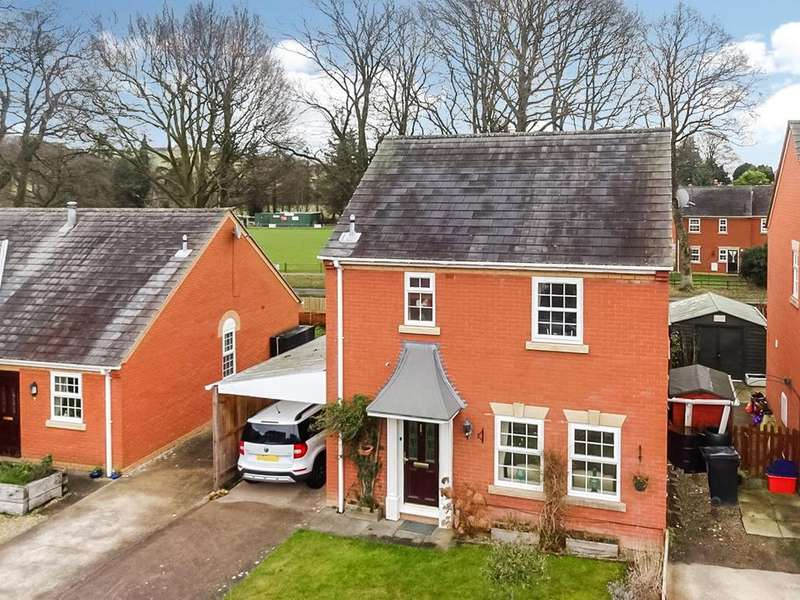 3 Bedrooms Detached House for sale in Rowan Court, Kerry, Newtown, Powys