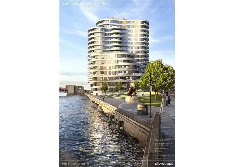 3 Bedrooms Flat for sale in Millbank, Westminster, London, SW1P