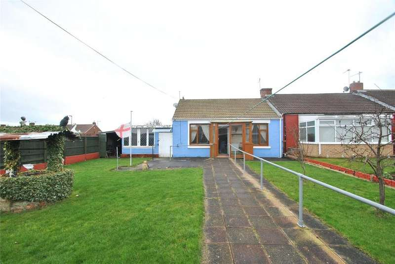 2 Bedrooms Bungalow for sale in Bethune Avenue, Seaham, Co Durham, SR7
