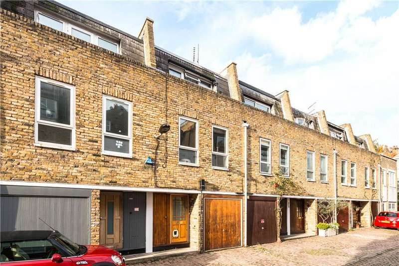 4 Bedrooms Mews House for sale in Elizabeth Mews, Belsize Park, London, NW3