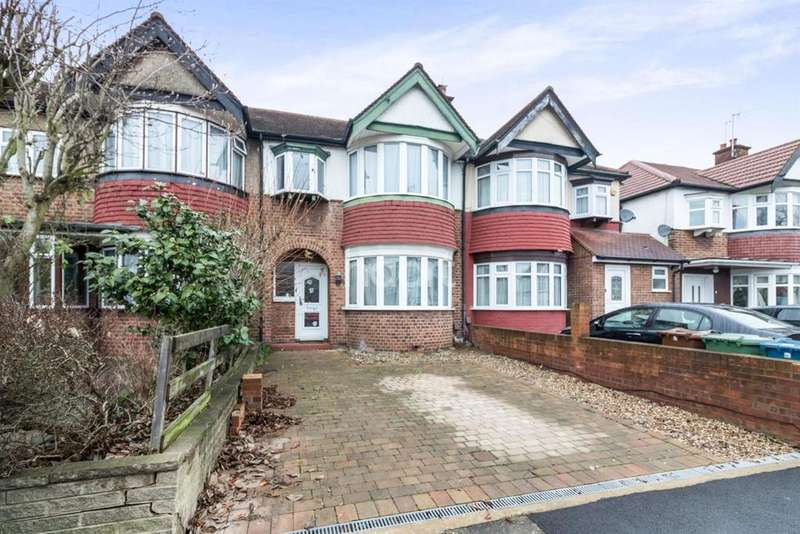 3 Bedrooms Terraced House for sale in Malvern Avenue, Harrow, HA2