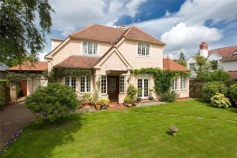 4 Bedrooms Detached House for sale in 55 Hailes Gardens, Colinton, Edinburgh, EH13