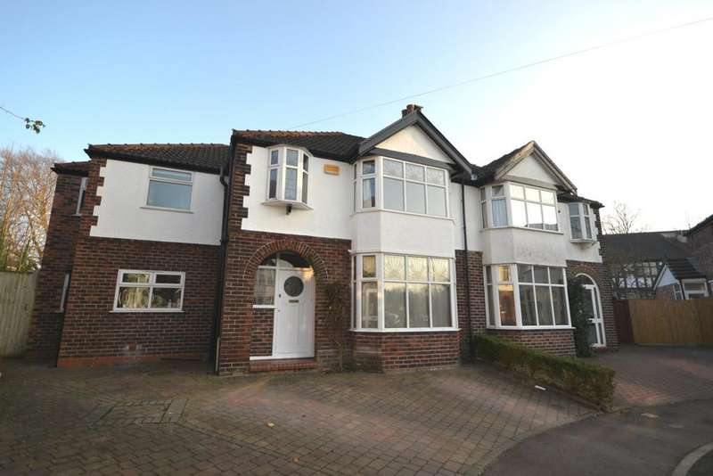 4 Bedrooms Semi Detached House for sale in Anerley Road, Didsbury