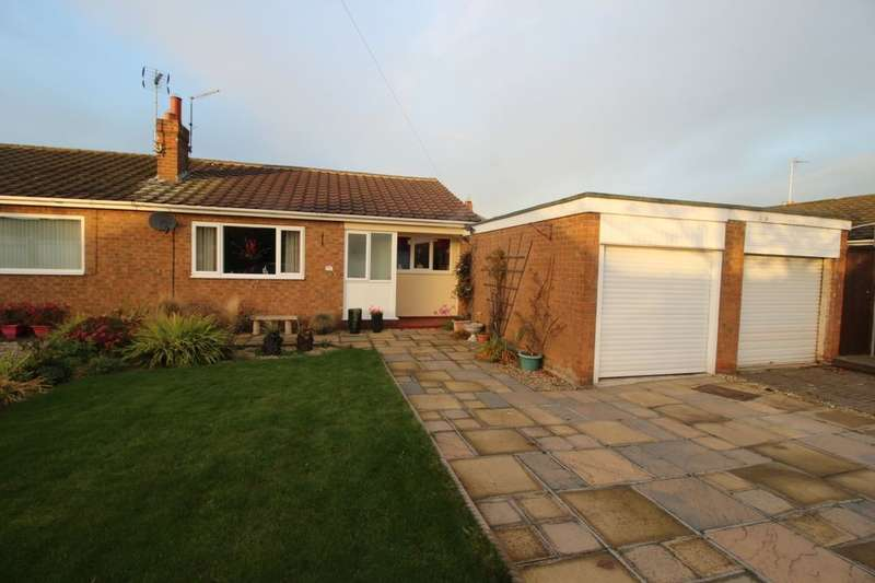 2 Bedrooms Semi Detached Bungalow for sale in The Greenway, Middleton St. George, Darlington, DL2