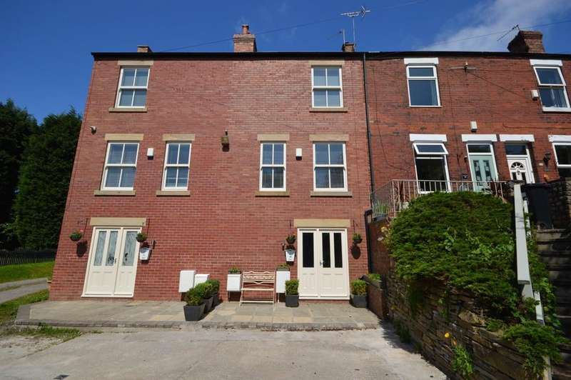 3 Bedrooms Terraced House for sale in Crescent Road, Cheadle