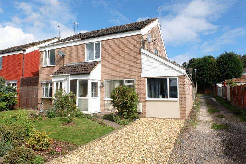 3 Bedrooms Semi Detached House for sale in Calder Road, Stourport-On-Severn DY13 8QD