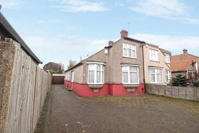 3 Bedrooms Semi Detached House for sale in Hyde Road Bexleyheath DA7