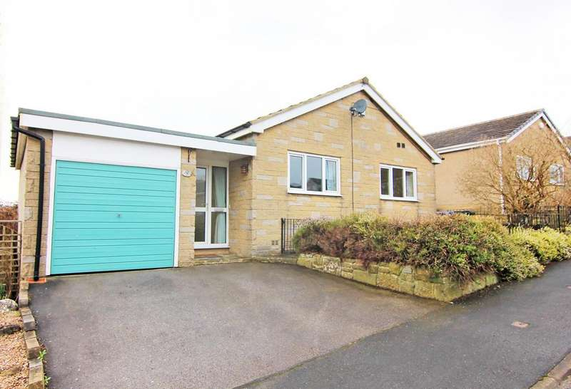 2 Bedrooms Detached Bungalow for sale in 9 Aire Valley Drive, Bradley