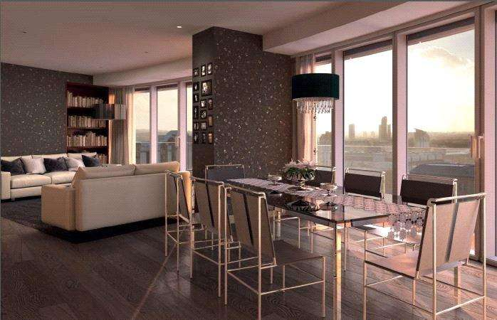2 Bedrooms Flat for sale in The Apartments, 9 Baltimore Wharf, London, E14