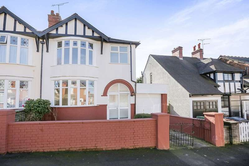 3 Bedrooms Semi Detached House for sale in Alexandra Road, Wolverhampton, WV4