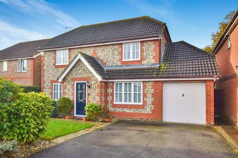 4 Bedrooms Detached House for sale in Keelers Way, Great Horkesley