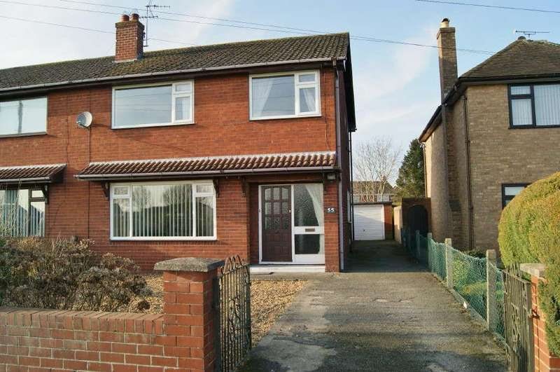 3 Bedrooms Semi Detached House for sale in Borras Road, Wrexham