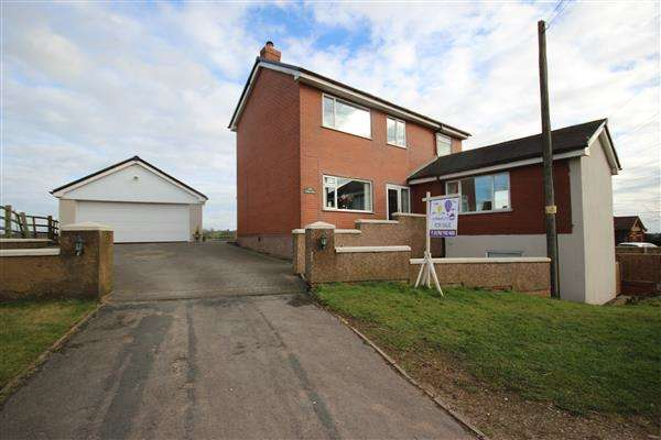 4 Bedrooms Detached House for sale in Gravel Cottage, Leek Road, Stoke on Trent