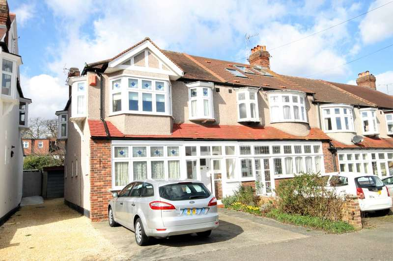 3 Bedrooms End Of Terrace House for sale in The Green, Morden