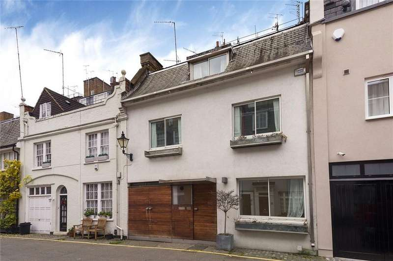 4 Bedrooms Mews House for sale in Clabon Mews, Knightsbridge, London, SW1X