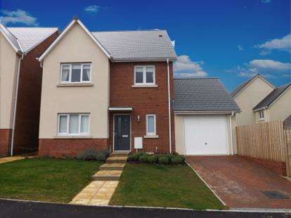 4 Bedrooms Detached House for sale in Kingsteignton, Newton Abbot, Devon