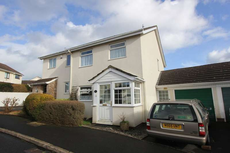 3 Bedrooms Semi Detached House for sale in Fox Tor Close, Hookhills, Paignton