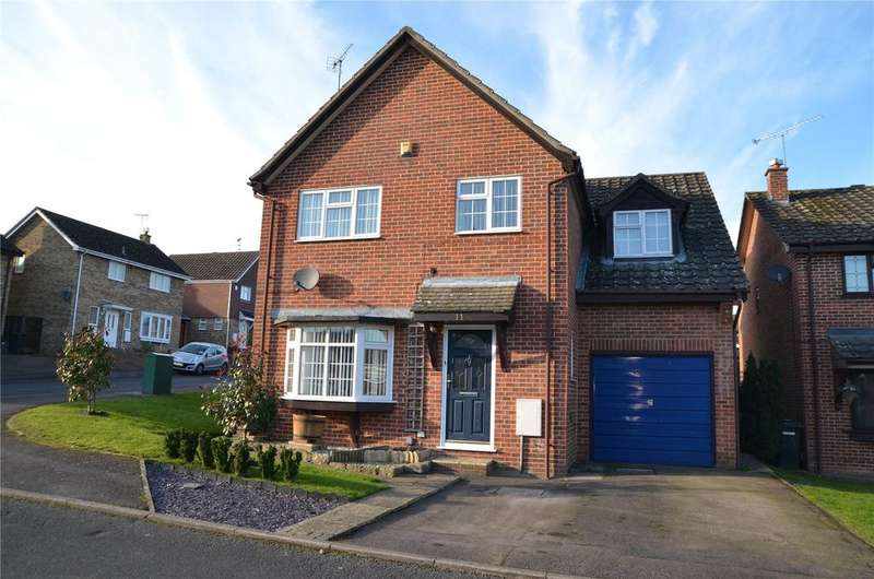 4 Bedrooms Detached House for sale in Highworth Way, Tilehurst, Reading, Berkshire, RG31