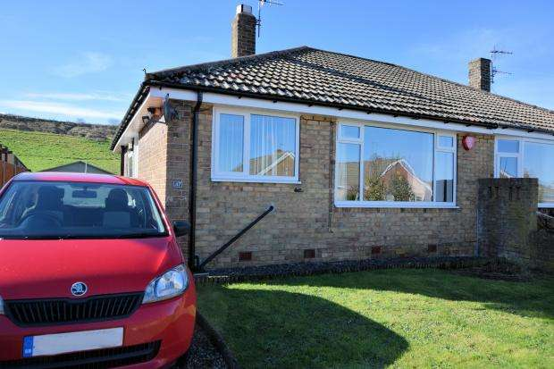 2 Bedrooms Semi Detached Bungalow for sale in Sea View Crescent, Scarborough, North Yorkshire YO11 3JF