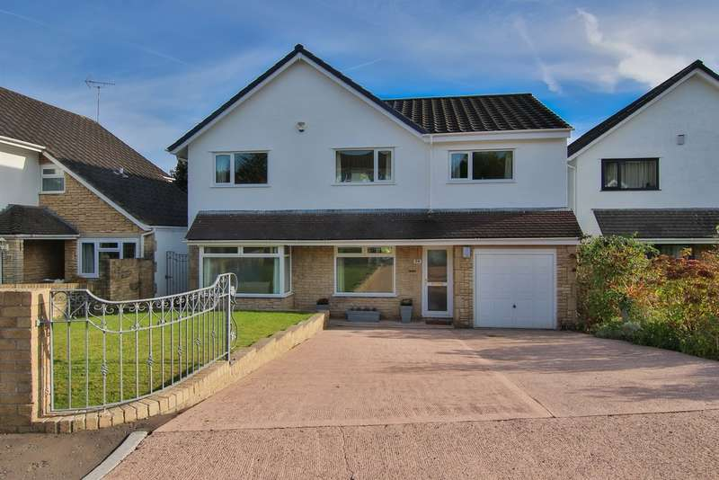 5 Bedrooms Detached House for sale in Millrace Close, Lisvane, Cardiff