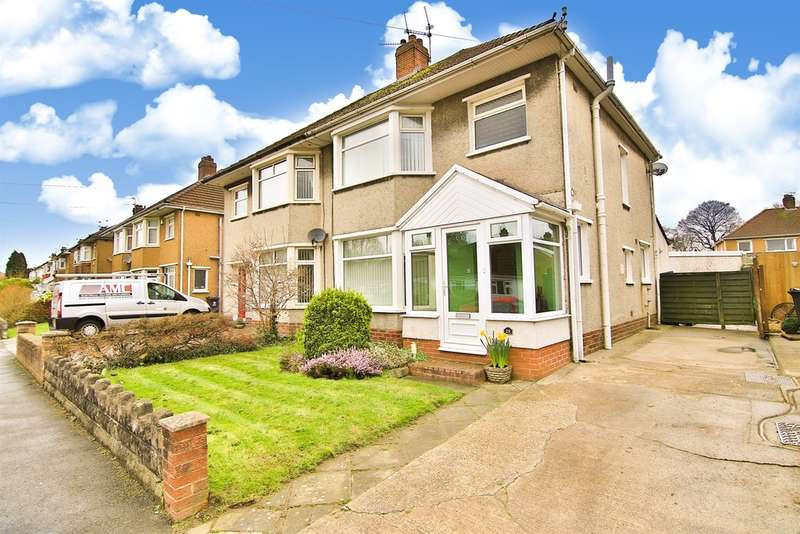 3 Bedrooms Semi Detached House for sale in Heol Cae Rhys, Rhiwbina, Cardiff