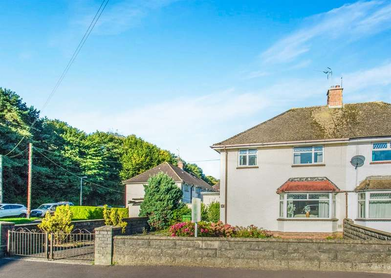 3 Bedrooms Semi Detached House for sale in Green Meadow Drive, Tongwynlais, Cardiff
