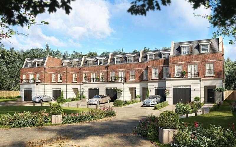 4 Bedrooms Terraced House for sale in Weybridge