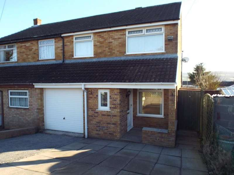 3 Bedrooms Semi Detached House for sale in Teglan Park, Tycroes