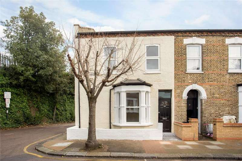 4 Bedrooms End Of Terrace House for sale in Sudlow Road, Wandsworth, London, SW18