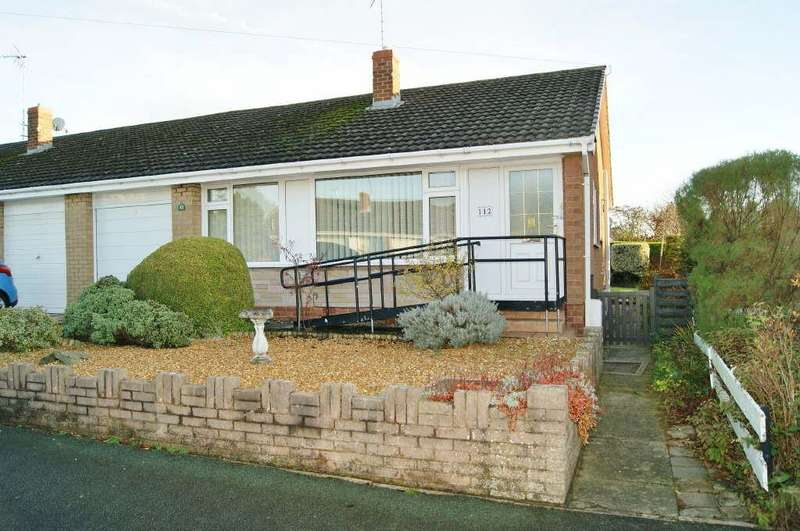 2 Bedrooms Semi Detached Bungalow for sale in Borras, Wrexham