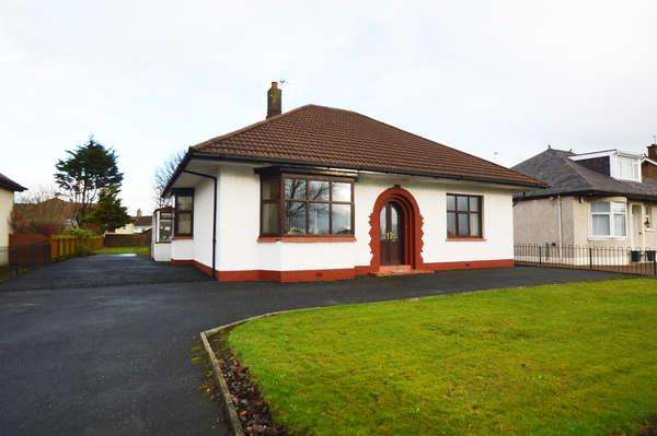 3 Bedrooms Detached Bungalow for sale in 79 High Road, Saltcoats, KA21 5SB