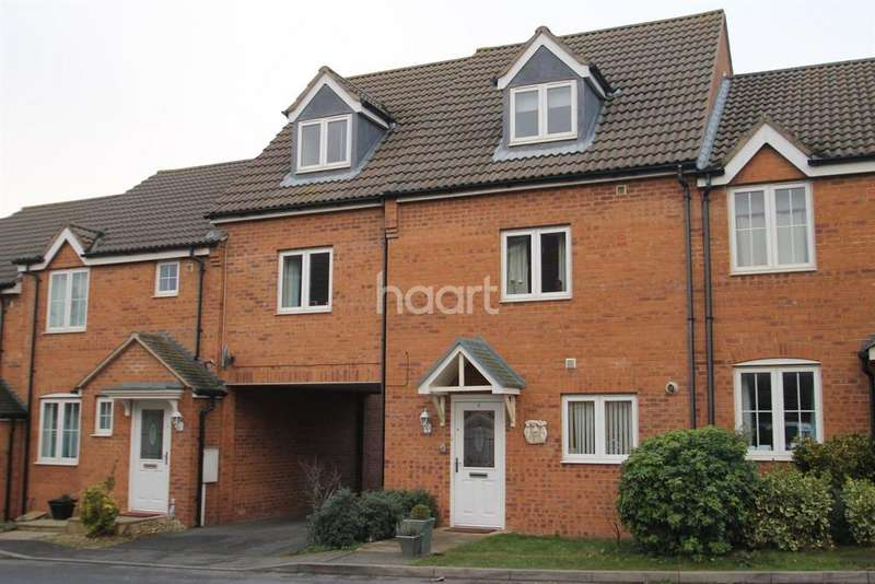 4 Bedrooms Semi Detached House for sale in Thorneydene Gardens, Grantham, NG31 8UF