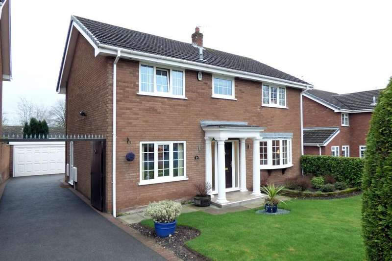 4 Bedrooms Detached House for sale in Fallowfield Drive, Barton Under Needwood