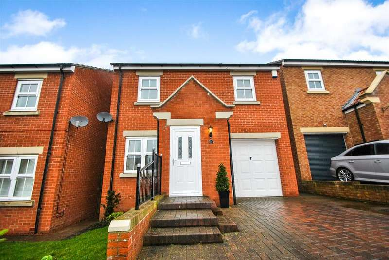 3 Bedrooms Detached House for sale in Elmfield, Hetton le Hole, Houghton le Spring, Tyne and Wear, DH5