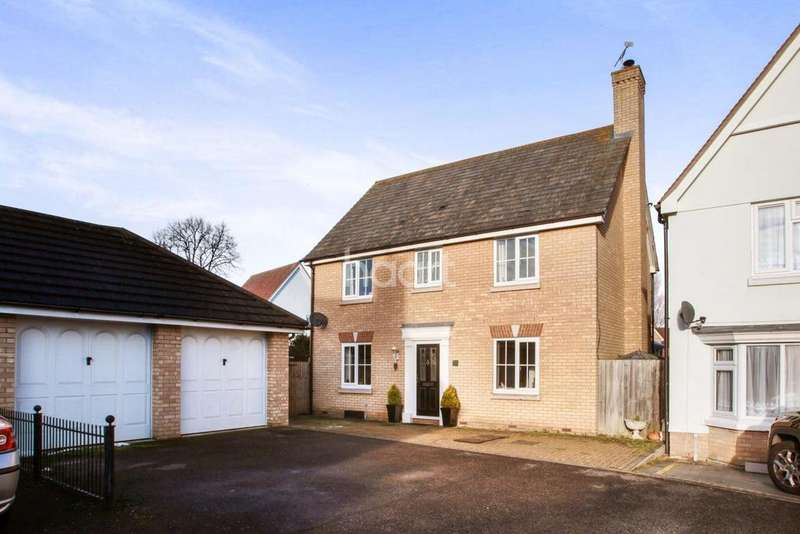 4 Bedrooms Detached House for sale in Wilkin Drive, Tiptree, CO5