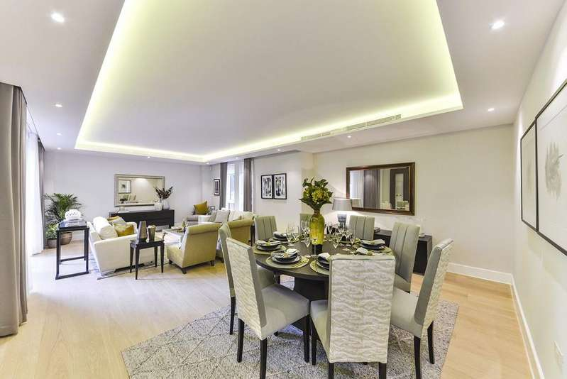 3 Bedrooms Flat for sale in Logan House, Logan Place, Kensington, London, W8