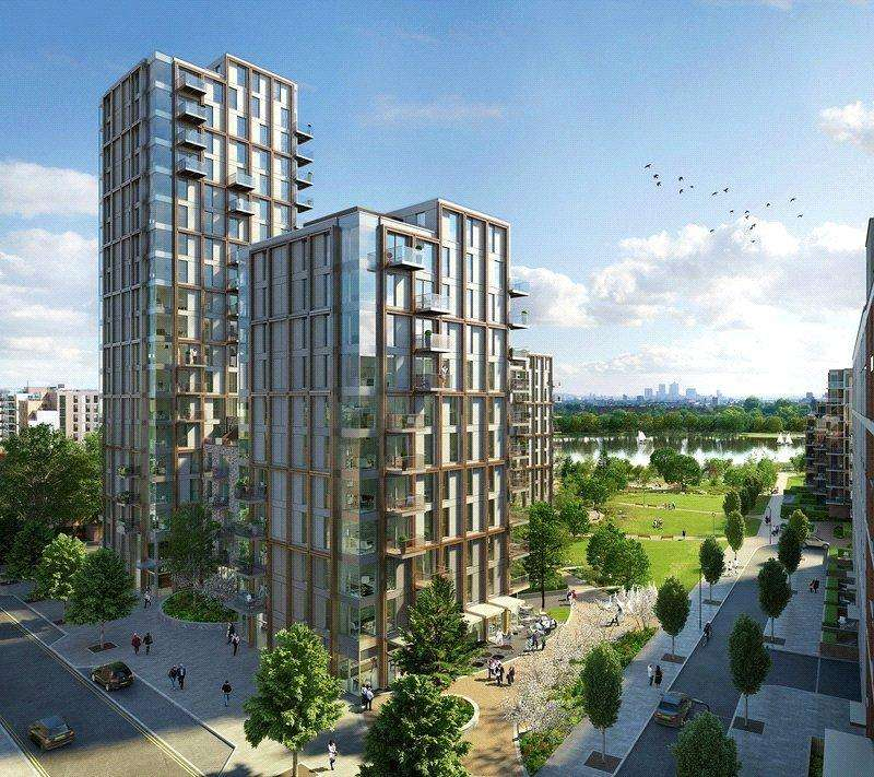 3 Bedrooms Flat for sale in Woodberry Down, Finsbury Park, London, N4