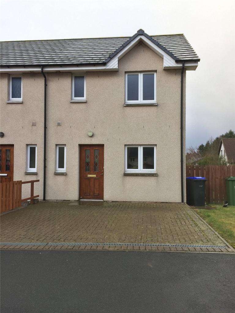 3 Bedrooms Semi Detached House for sale in 11 Den View, Maud, Peterhead, Aberdeenshire, AB42